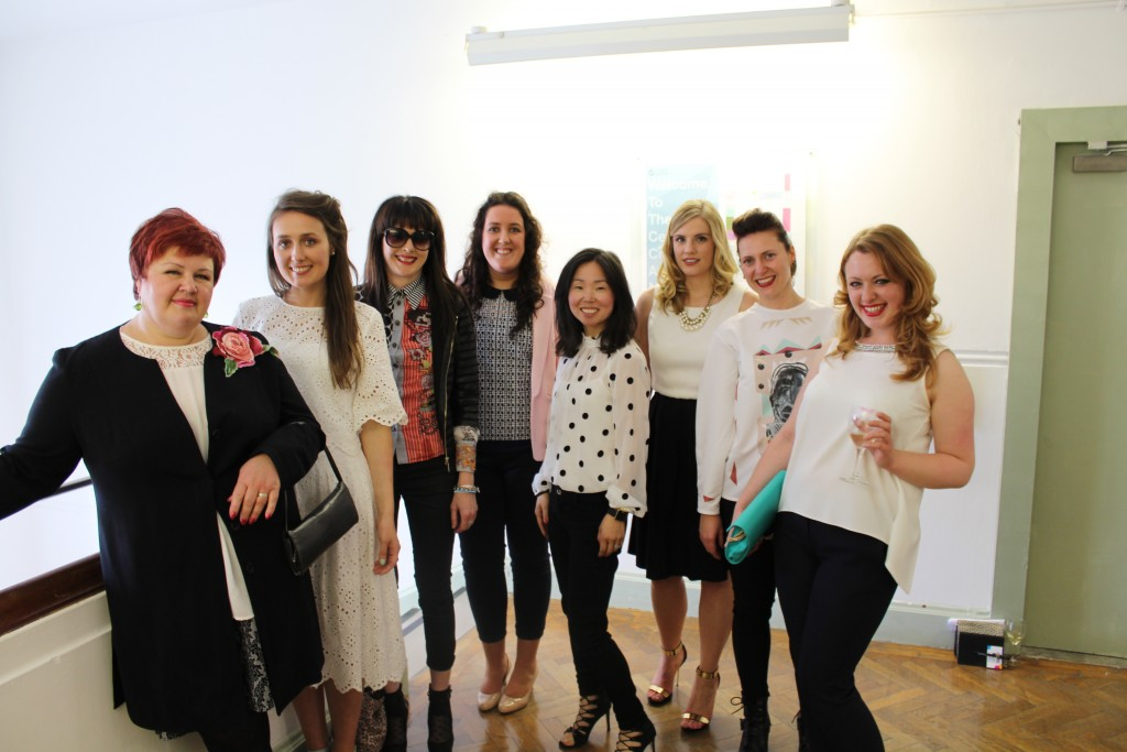 Some of the Textiles 2015 class